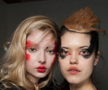 Vivienne Westwood Red Label红白黑前卫妆容
