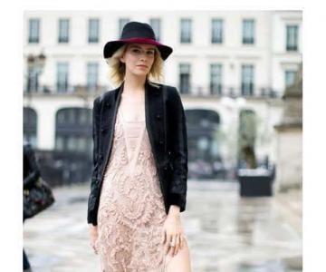 早春蕾丝怎么穿 跟着街拍达人们学习吧