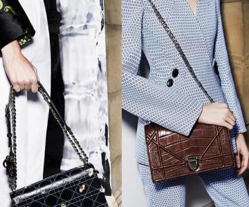迪奥Diorama手袋的魅力 女星们都爱它