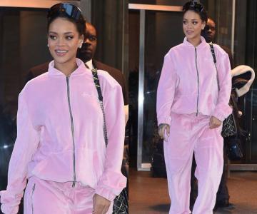 蕾哈娜教你如何驾驭粉色