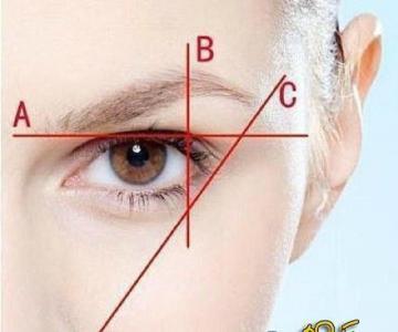 标准眉型怎样修成 看造型达人小P老师教大家脸部化妆技巧