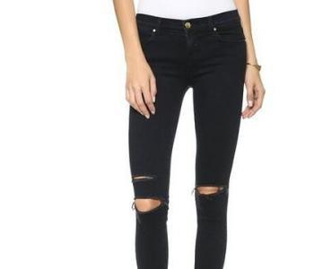 春装美腿显出来 选对牛仔裤显瘦腿