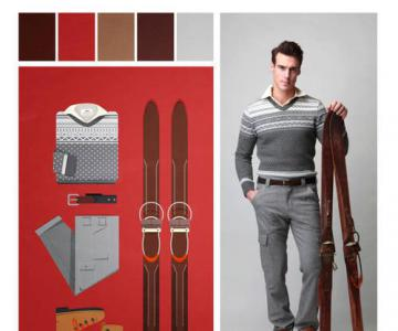 巧妙服装色彩搭配 尽显现代男装活力