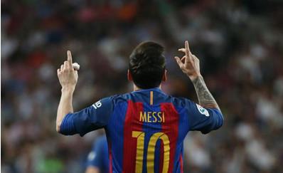 西甲德比大战,有什么比梅西绝杀更燃爆球迷?
