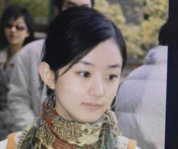 赵丽颖选秀照曝光 盘点女星出道对比照