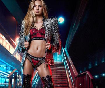 Victoria's Secret × Balmain联名系列:性感网布、格纹与Swarovski水晶元素是买点