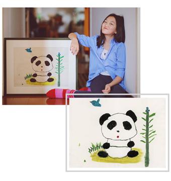 "Ooh Dear携手李嫣然,打造""熊猫与小鸟""公益项链"