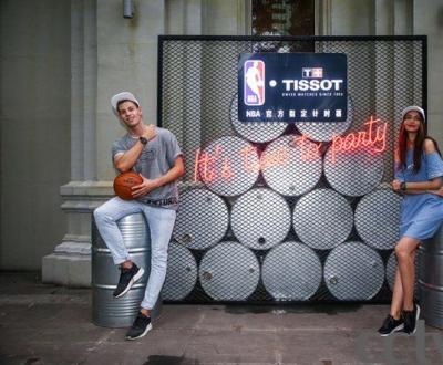 天梭速驰系列NBA球队款腕表点亮京城夏夜