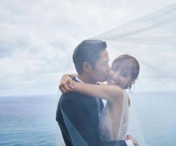 郑嘉颖、陈凯琳巴厘岛共订爱盟BVLGARI见证甜蜜时刻
