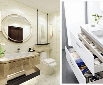 小卫生间装修如何做到干净整洁?六大收纳技巧解决你的烦恼