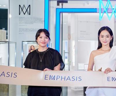 EMPHASIS艾斐诗内地首家精品店璀璨揭幕 演员何泓姗优雅冠冕女性之美