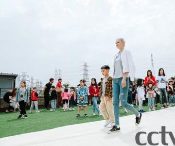 LIU LISI PARIS高定秀联合国儿童基金会(法国)慈善小天使启航活动北京发布会