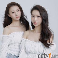 双生姐妹刘嘉格、刘嘉芮 参演湖南卫视《蜗牛与黄鹂鸟》