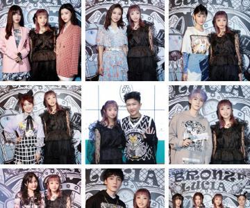 Bronze Lucia 2021SS系列上海时装周全新发布 众艺人棒场