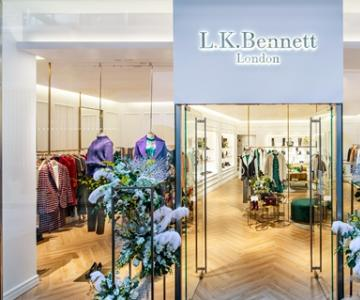 英国凯特王妃喜爱的品牌L.K.Bennett 精品店入驻北京三里屯太古里