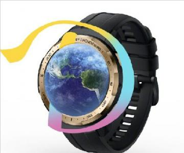 荣耀手表GS pro联名Discovery探索频道,1月18日发布全新星空配色